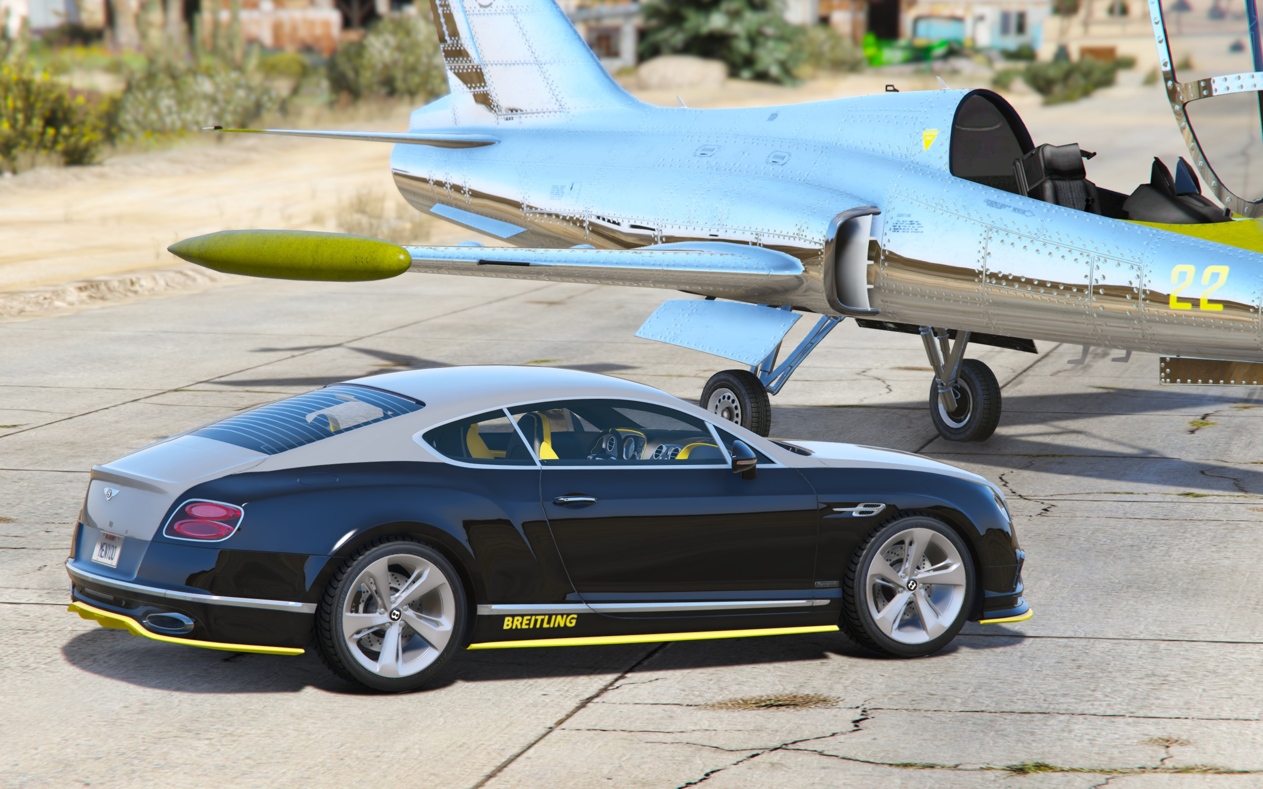 Bentley Continental GT Breitling Jet Team [Add-On / Replace] - GTA5 ...