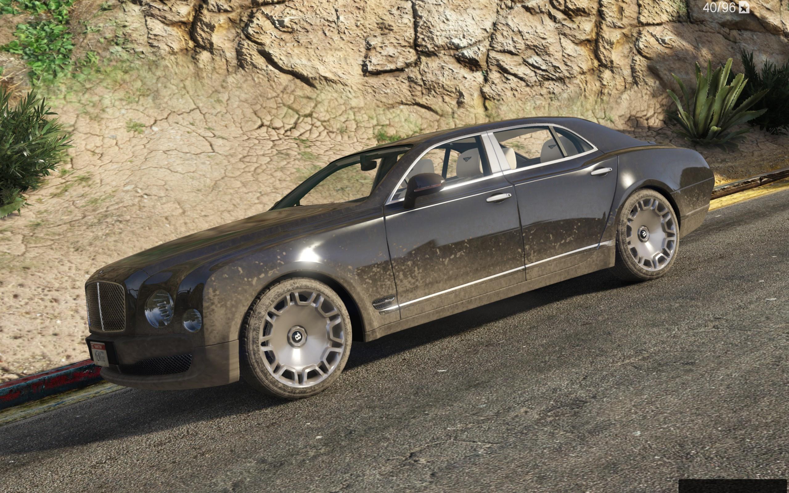 Bentley Mulsanne Mulliner 2013 [Add Replace] GTA5 Mods