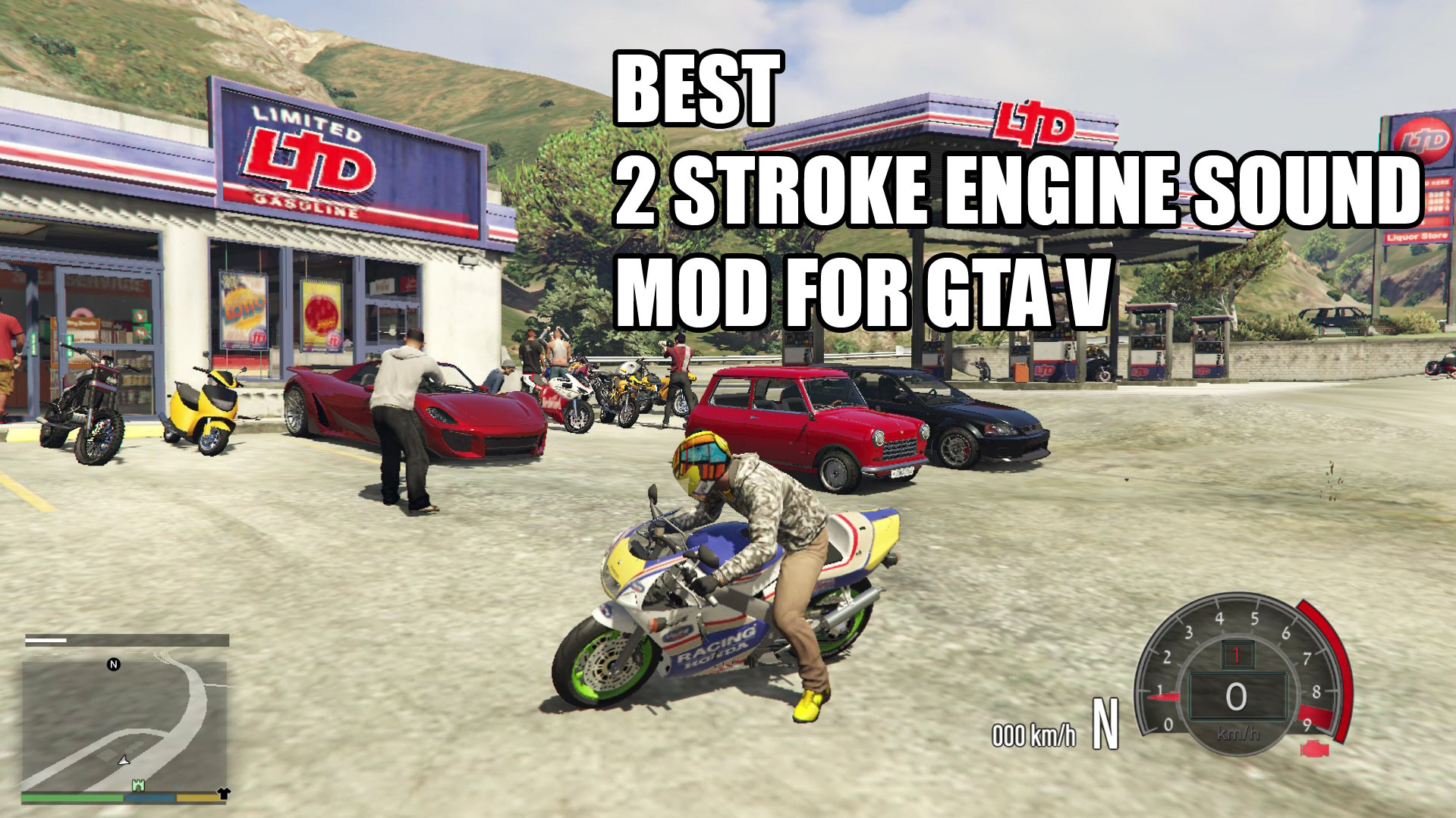 Best Two Stroke Engine Sound For Motorcycle Gta5 Mods Com