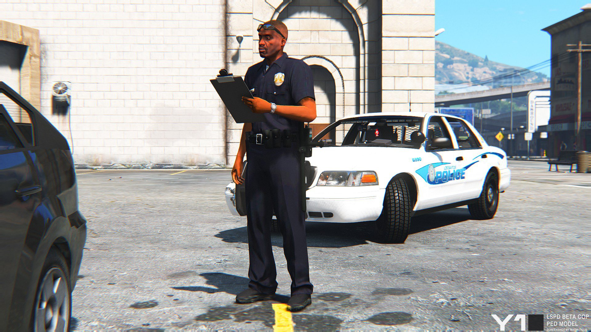 Beta LSPD Cop Ped Model - GTA5-Mods com