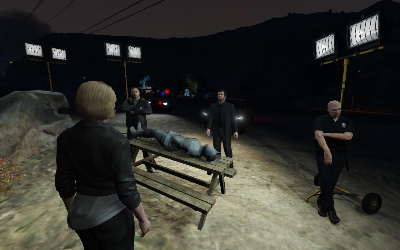 True detective season 2 crime scene gta5 mods com