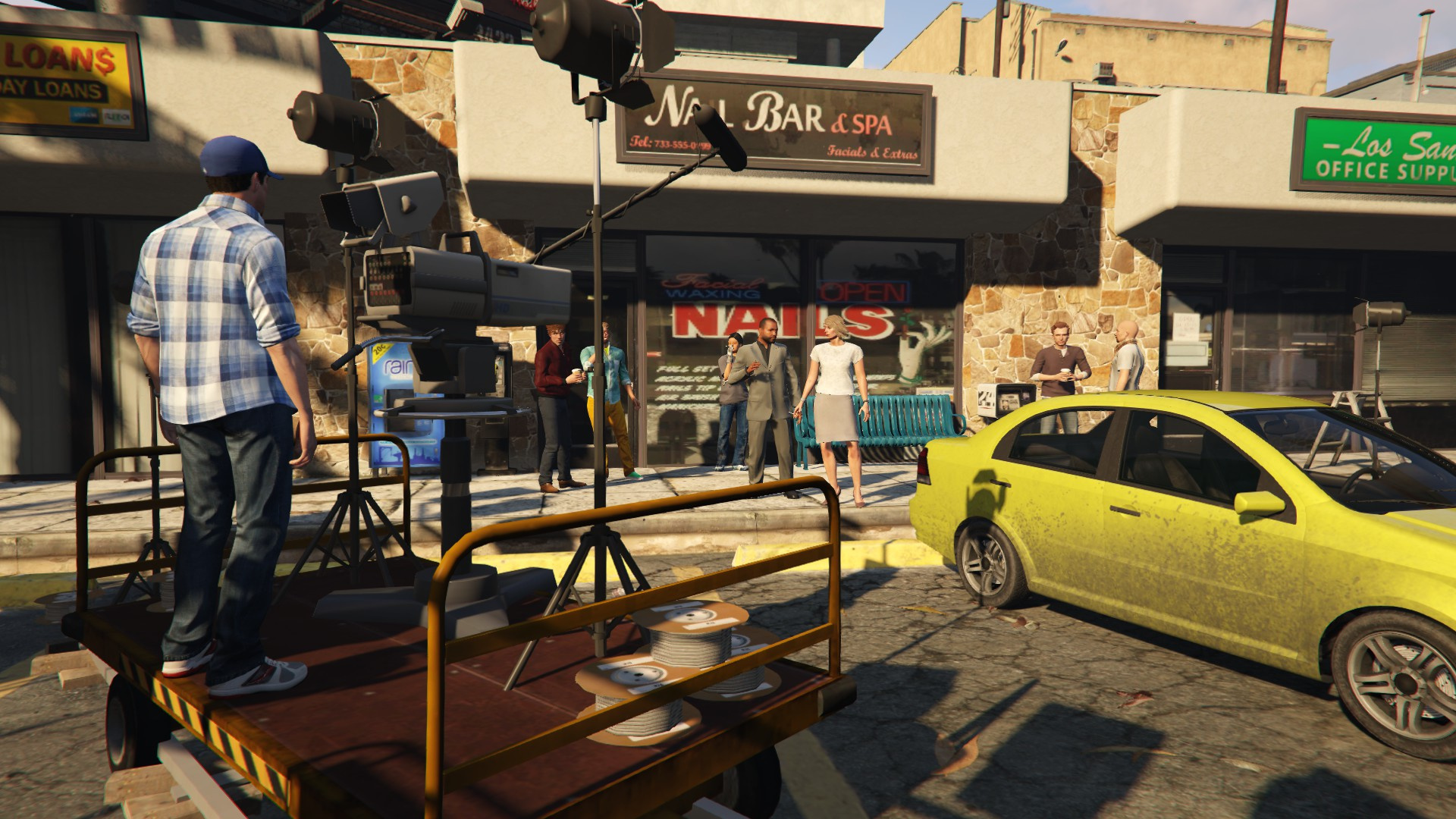 Better Call Saul Filming Gta5 Modscom