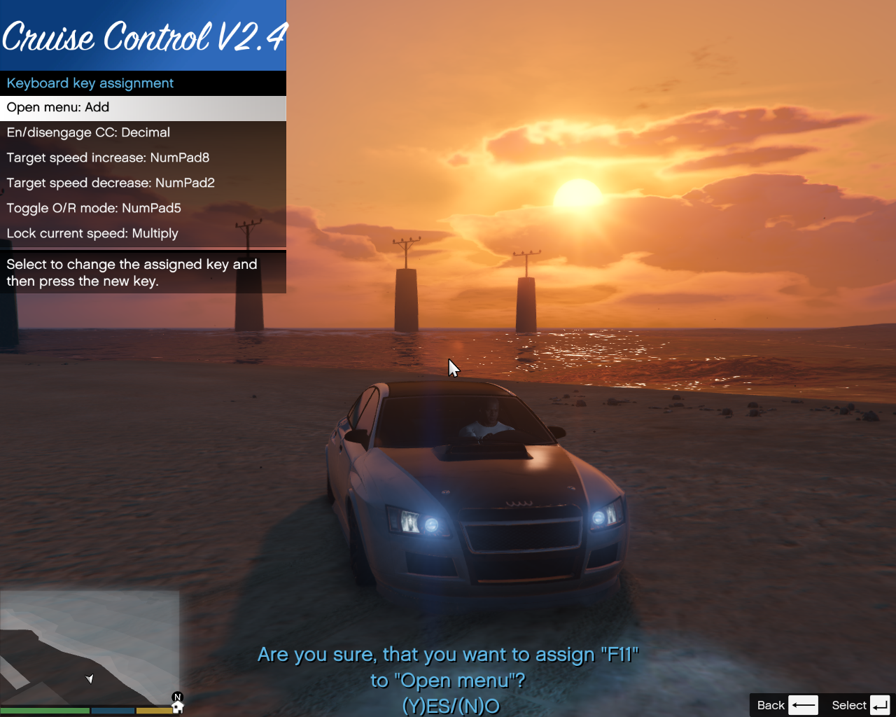 Enhanced Cruise Control/Speedlimiter - GTA5-Mods com