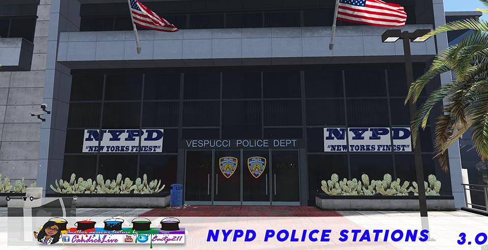 NYPD Police Stations Mod - GTA5-Mods.com
