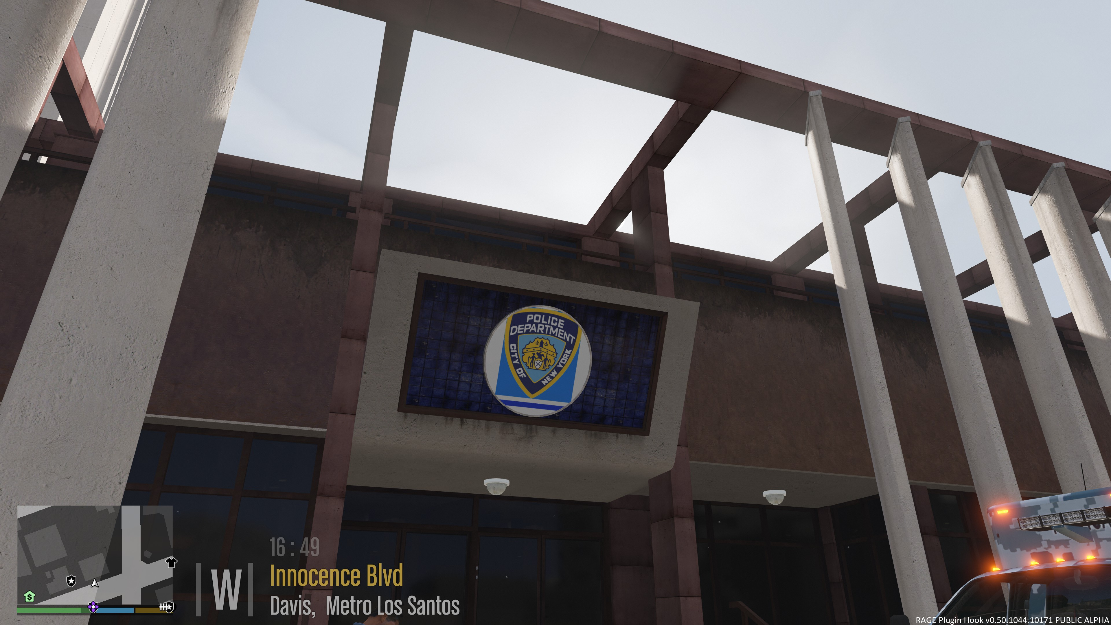 Better Police Stations: NYPD Edition - GTA5-Mods.com