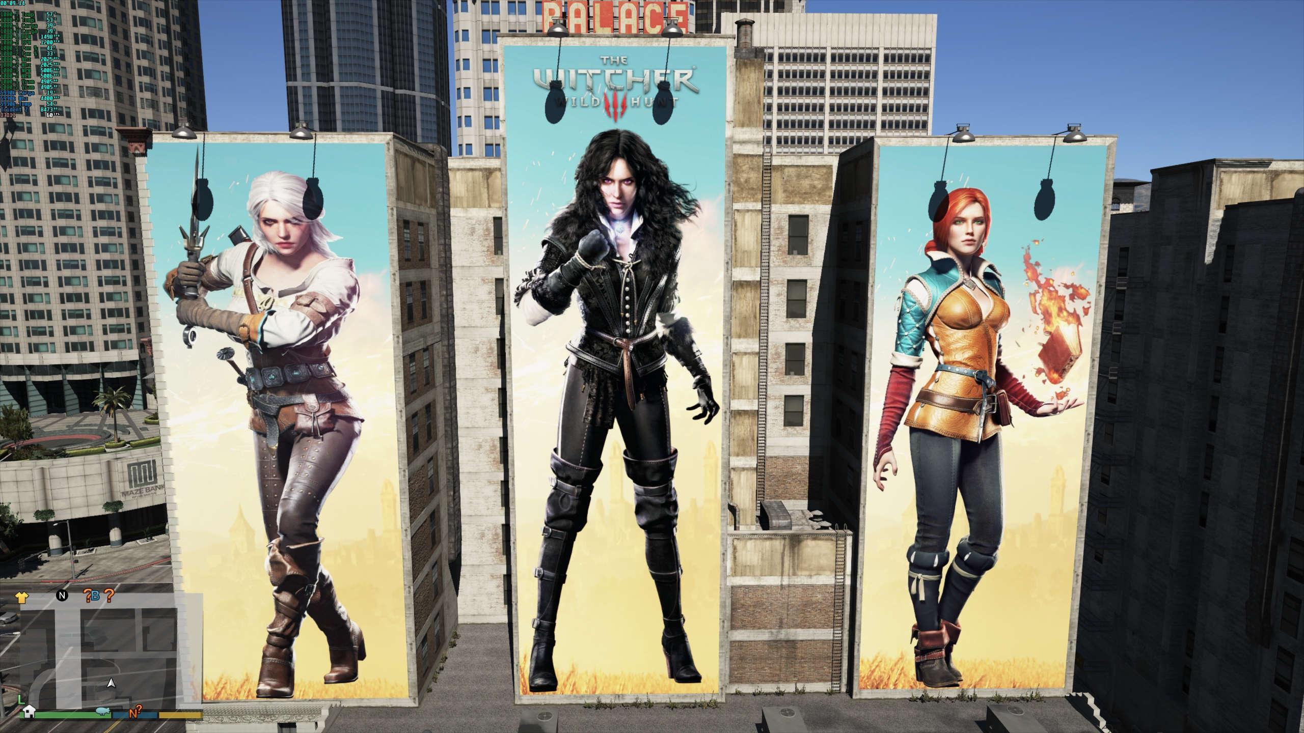 Big Billboard Witcher 3 - GTA5-Mods com