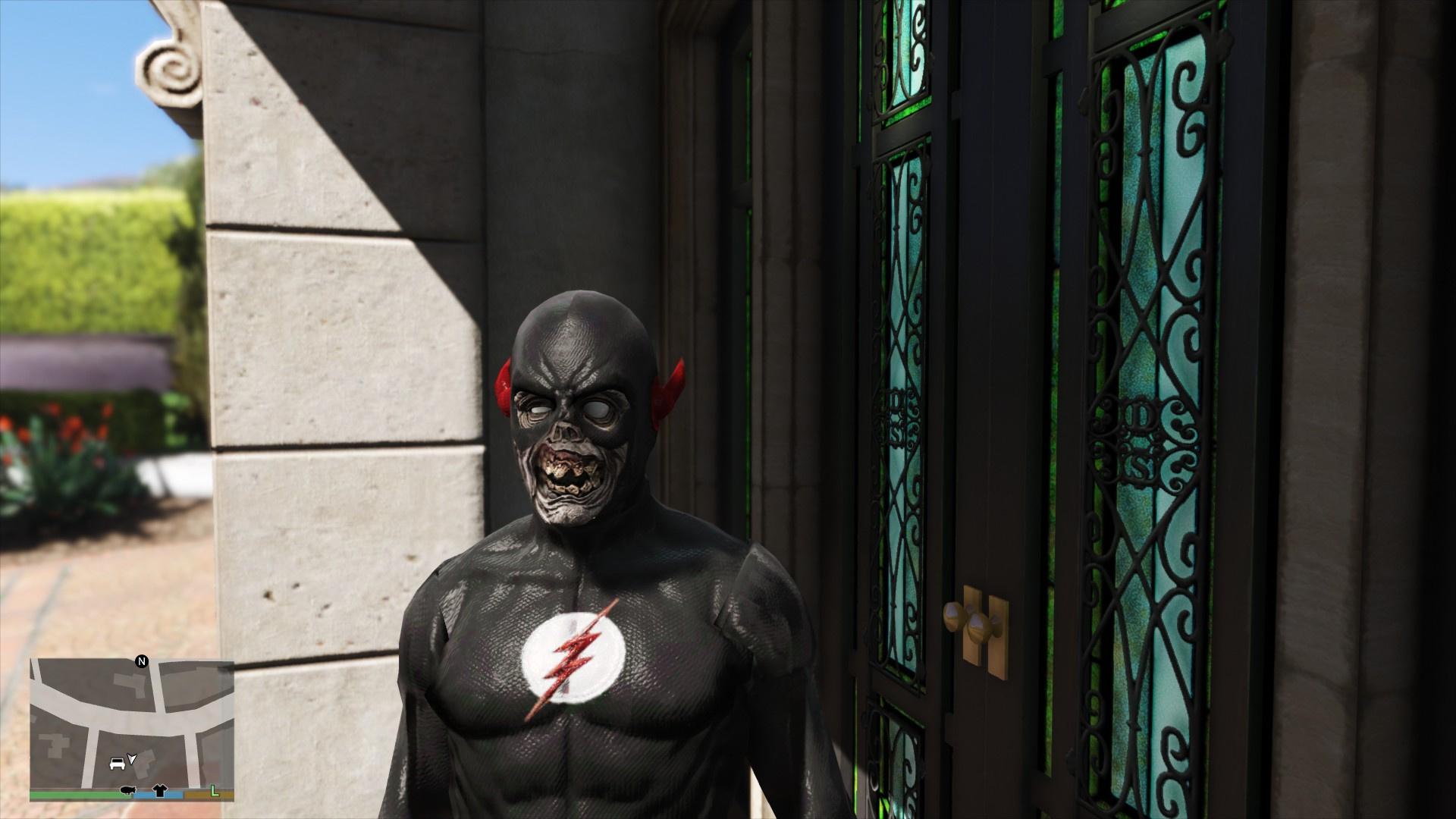 Black Flash Comics Gta5 Mods Com