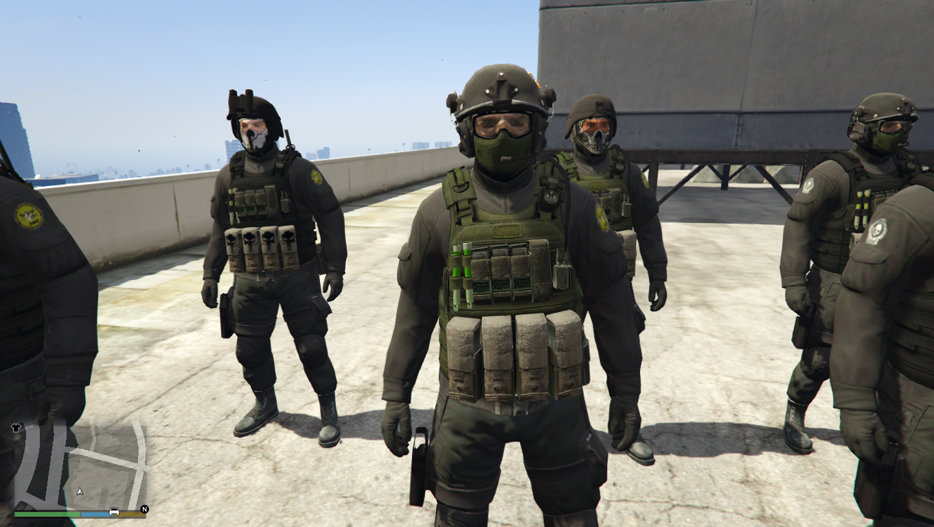 SWAT Ghost Team - GTA5-Mods com