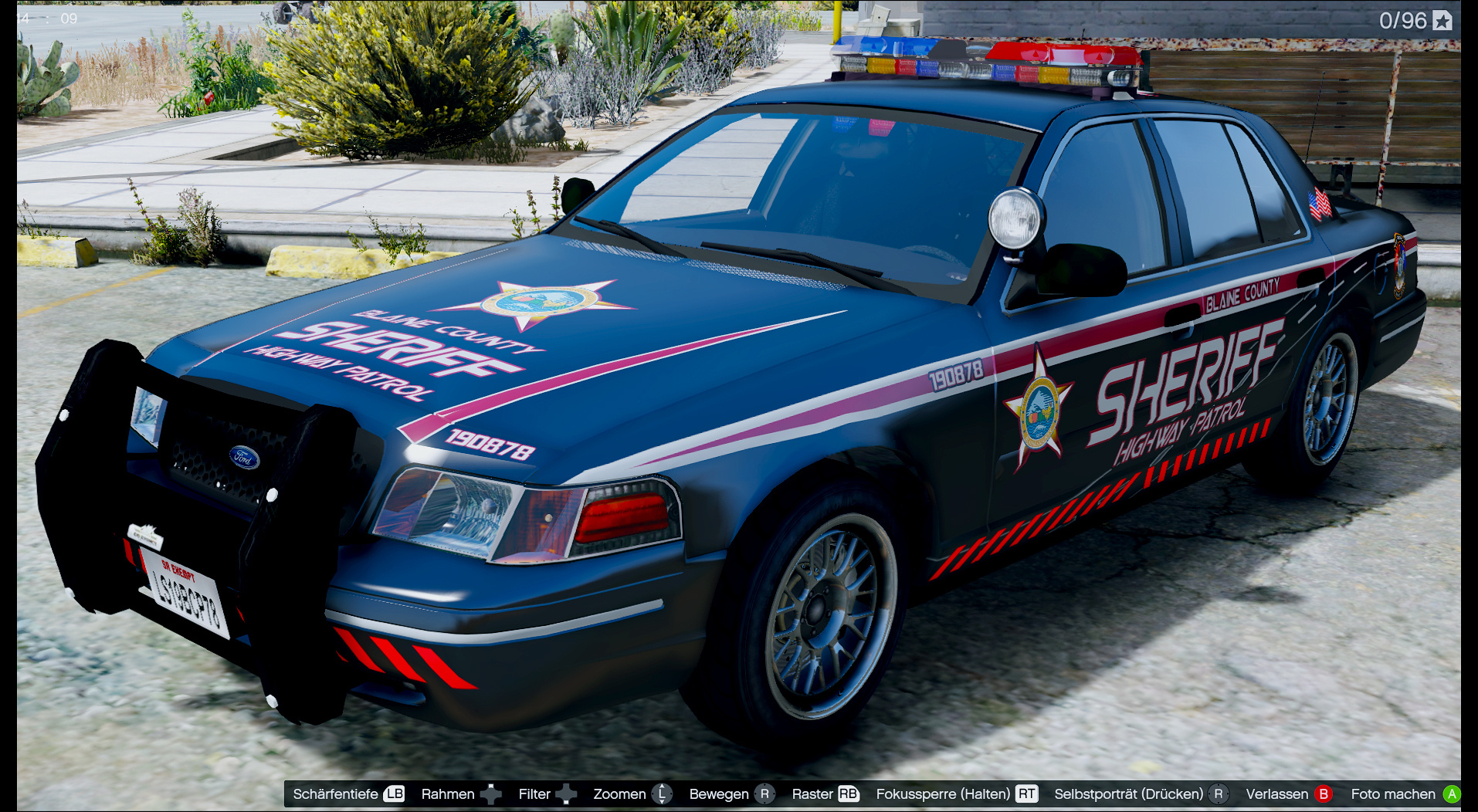 Blaine County Sheriff For F5544 Cvpi Gta5 Mods Com