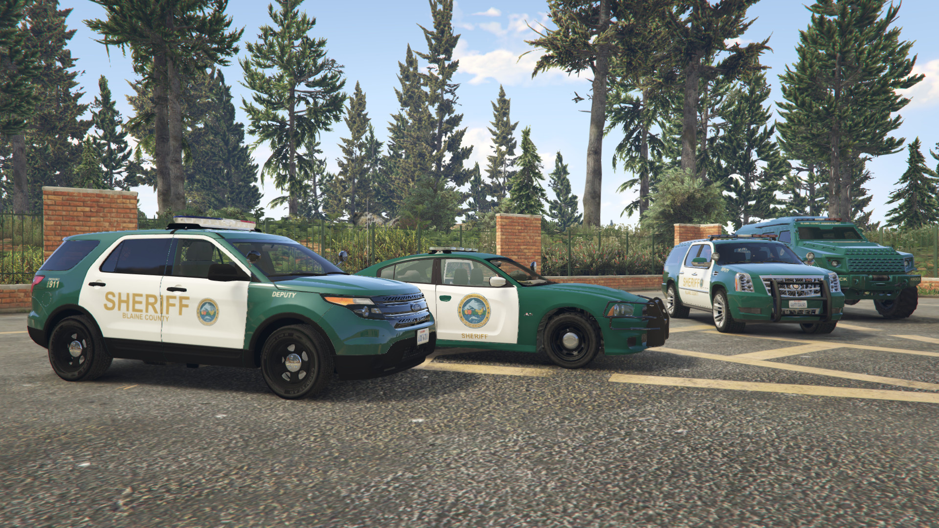 Blaine County Sheriff Vehicle Pack (Winter Update) - GTA5-Mods com