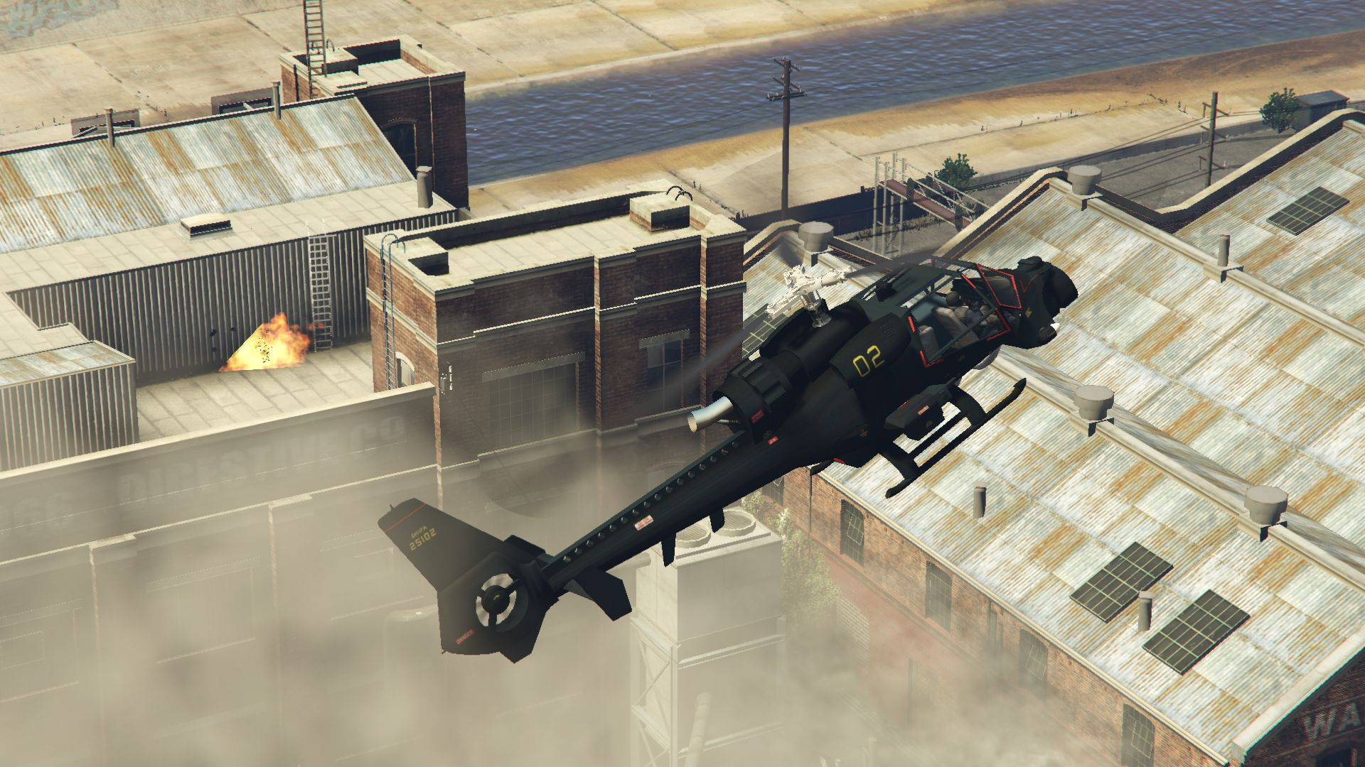 Elicottero Gta 5 : Blue thunder helicopter add on gta mods