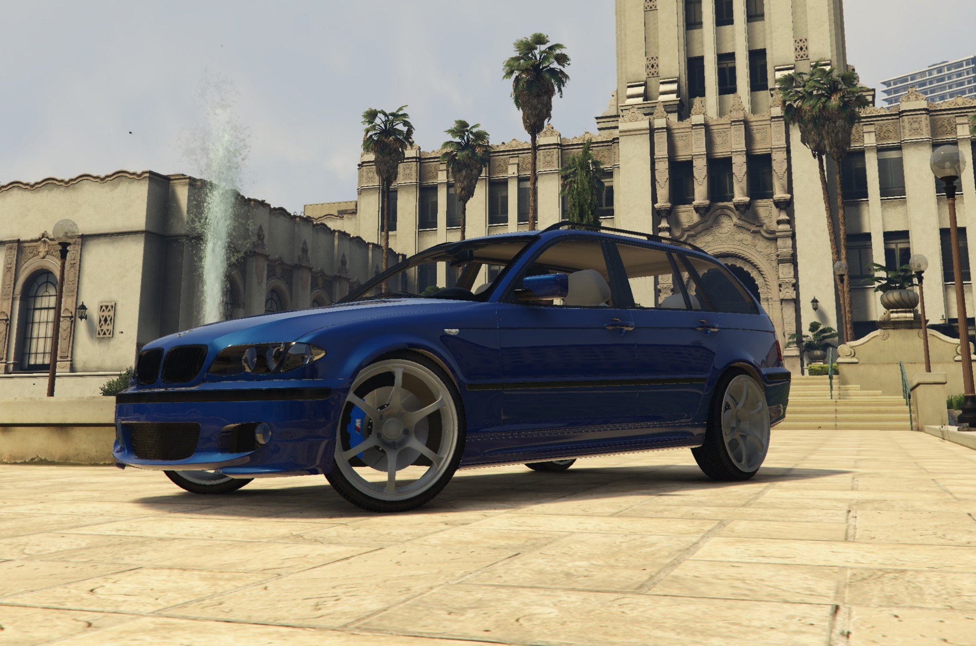 Bmw 3 Series Touring E46m Facelift Pack Luxe Gta5 Mods Com