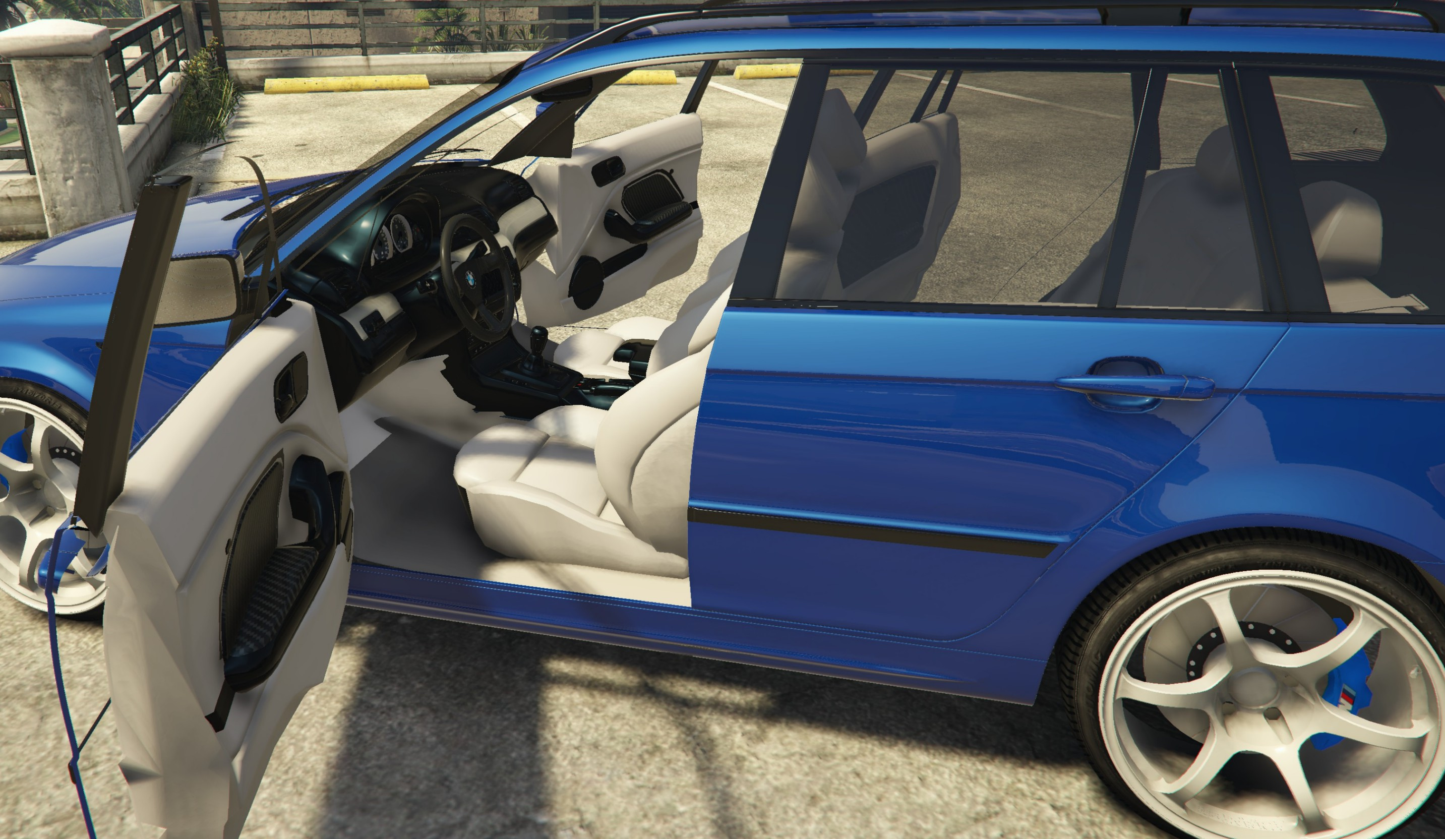 bmw 3 series touring e46m facelift pack luxe gta5. Black Bedroom Furniture Sets. Home Design Ideas