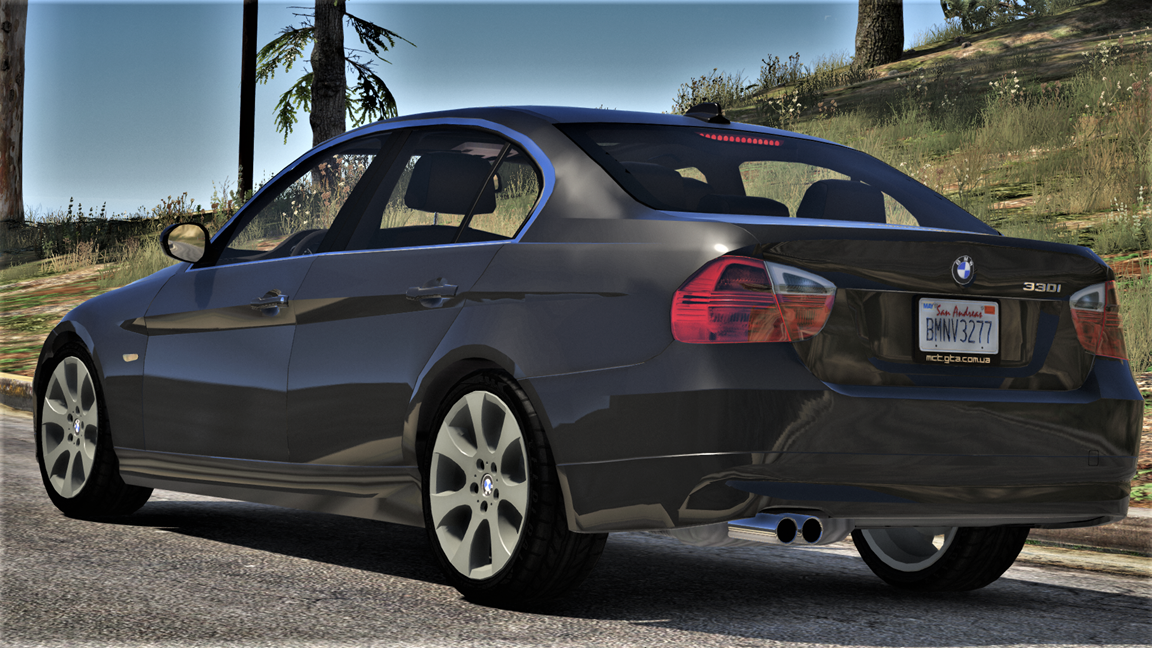 bmw 330i e90 pre lci add on replace livery extras gta5. Black Bedroom Furniture Sets. Home Design Ideas