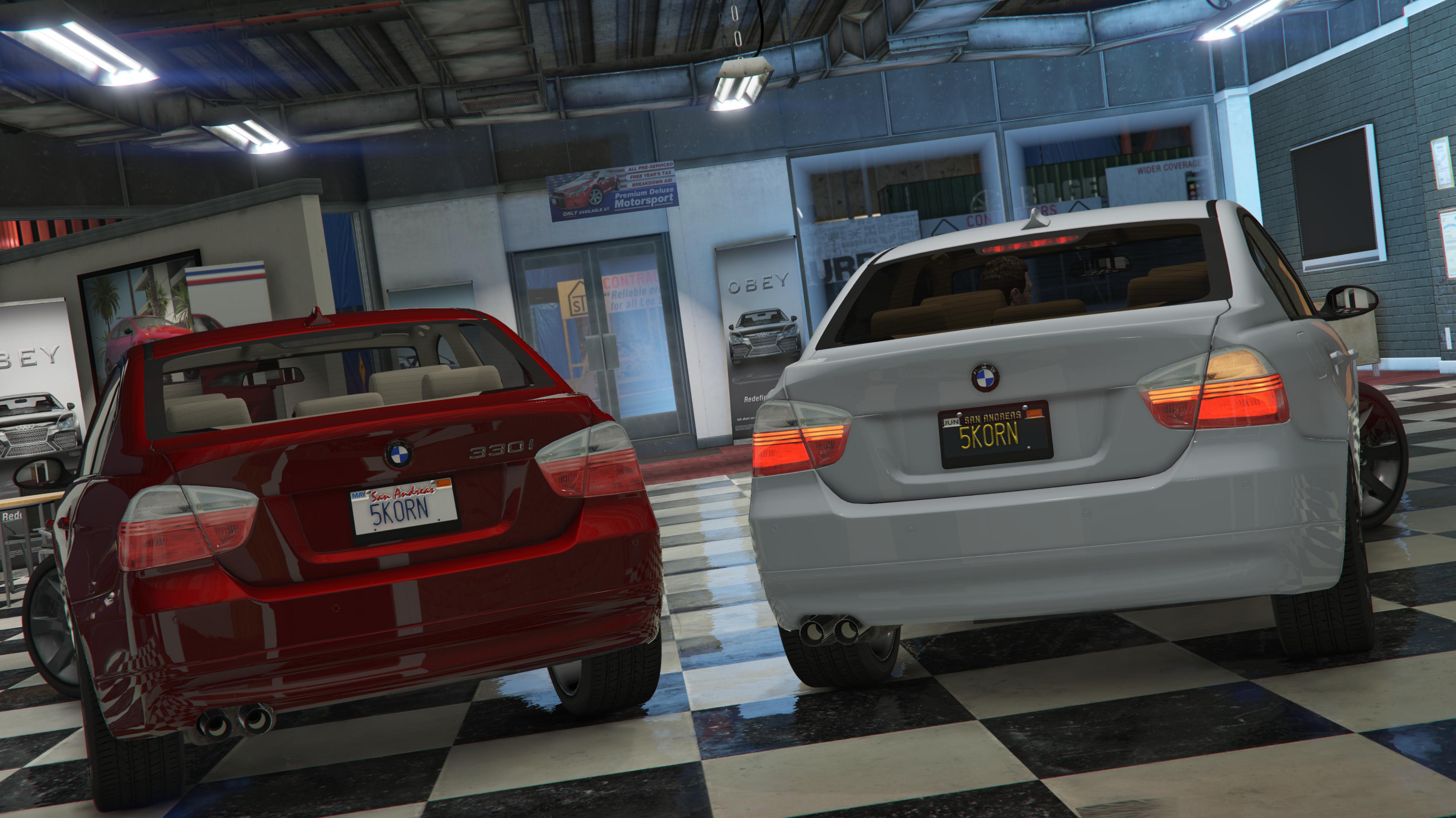 BMW I E AddOn Replace GTAModscom - 2007 bmw 330i