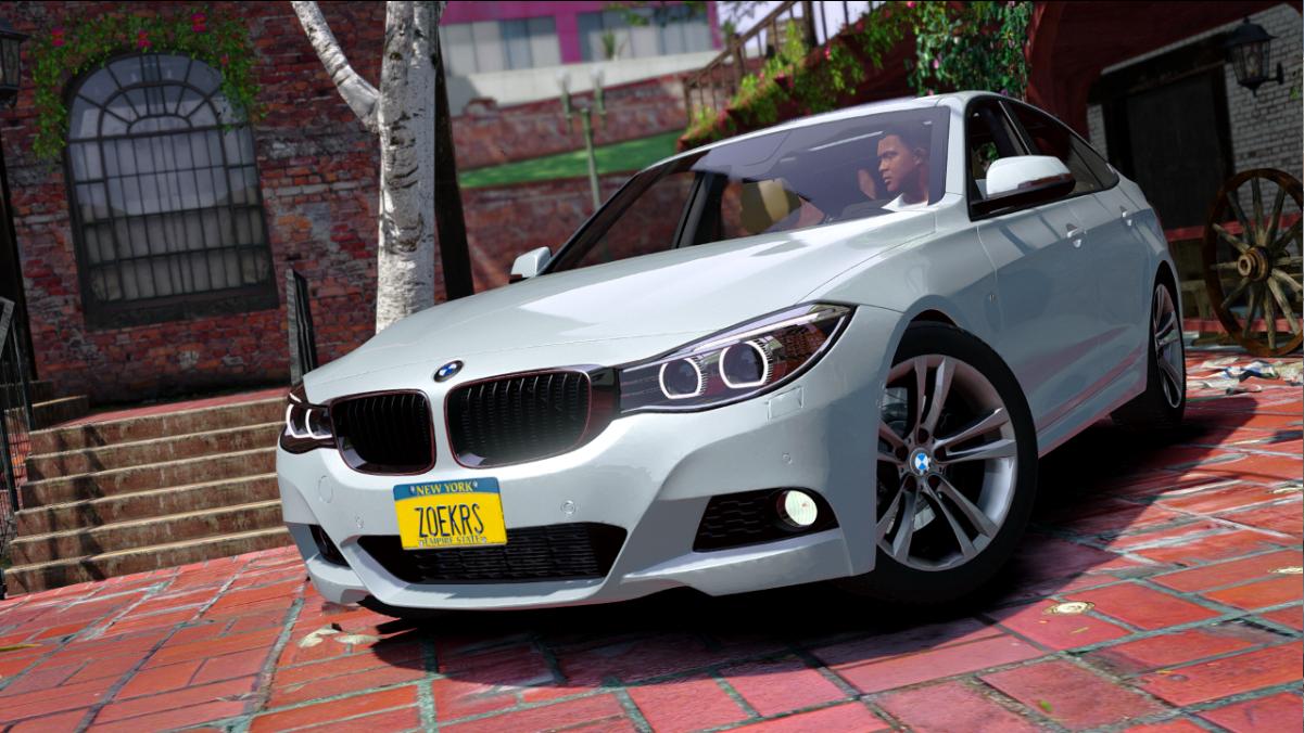 BMW 335i GT Replace  GTA5Modscom