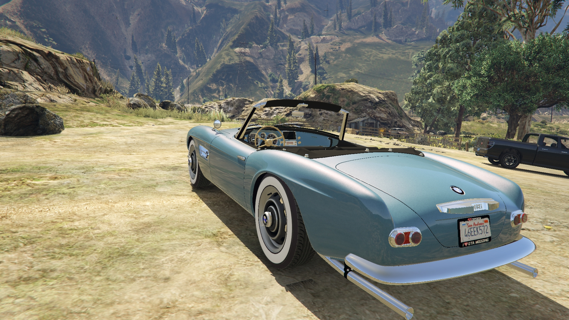 1959 bmw 507 gta5. Black Bedroom Furniture Sets. Home Design Ideas