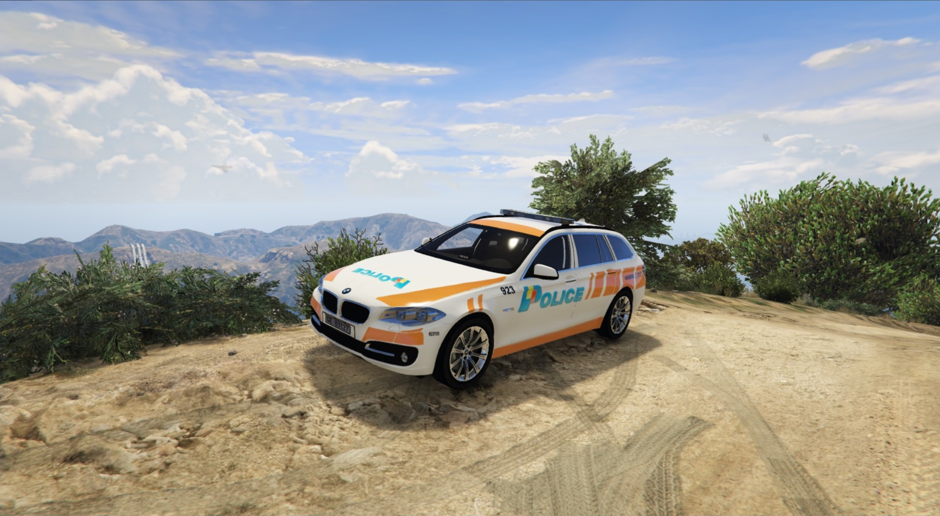 Bmw 530d Swiss Ge Police Gta5 Mods Com