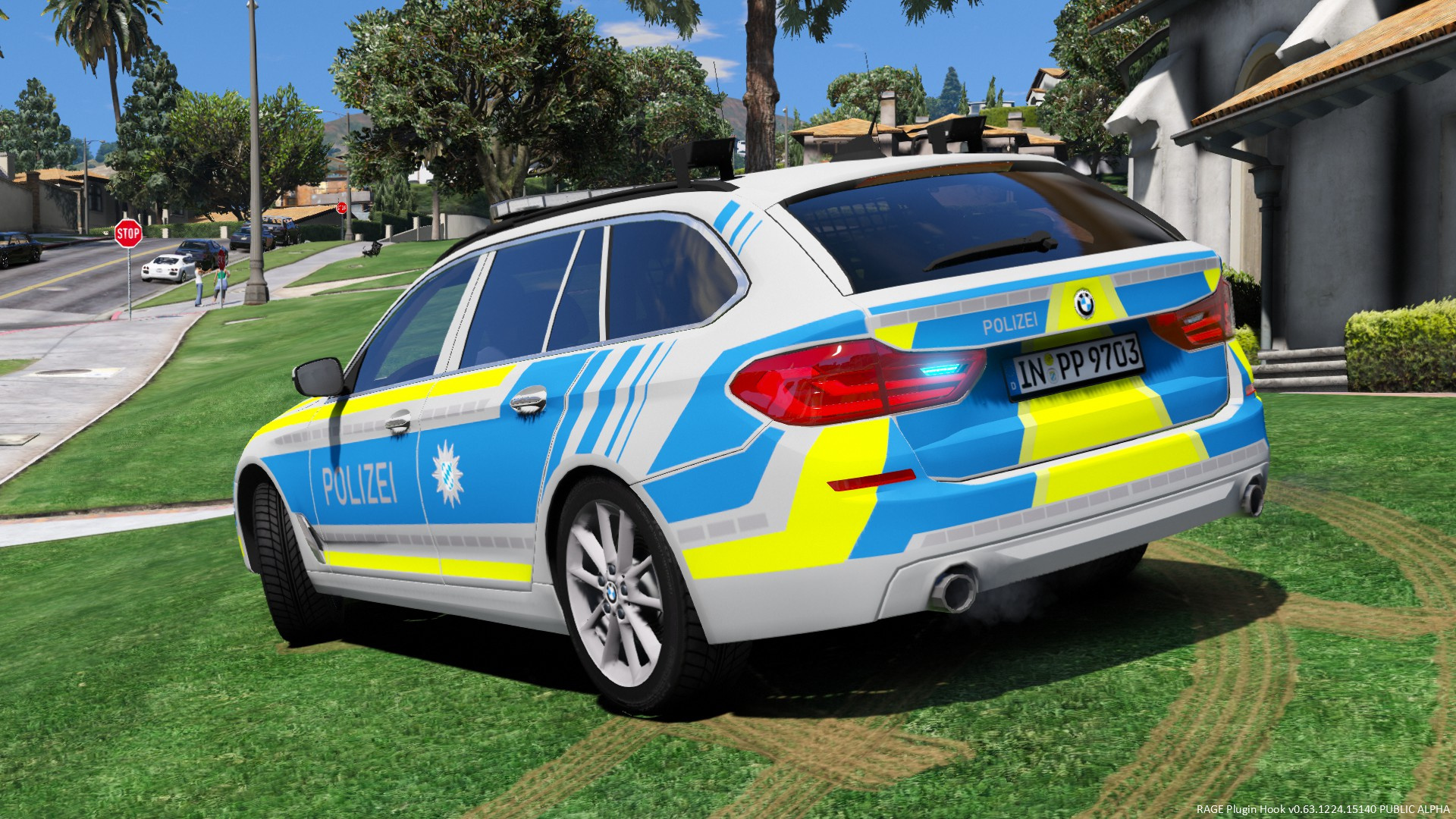 bmw 5er touring g31 polizei bayern paintjob gta5. Black Bedroom Furniture Sets. Home Design Ideas