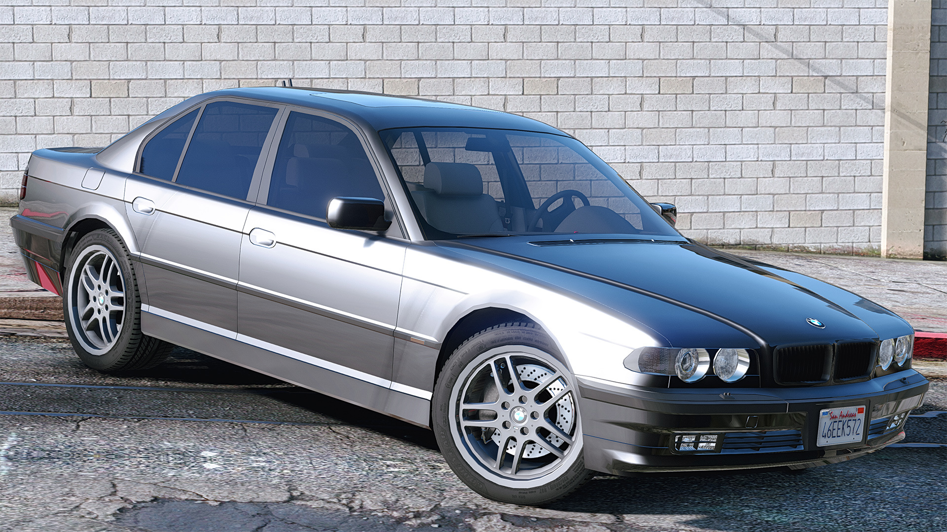 BMW 740i E38 Shadow Line AddOn  Replace  GTA5Modscom