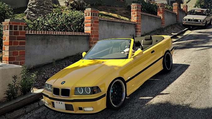 bmw e36 328i m sport cabrio replace gta5. Black Bedroom Furniture Sets. Home Design Ideas