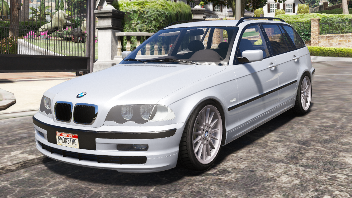 Bmw E46 Touring Phase 1 Add On Gta5 Mods Com