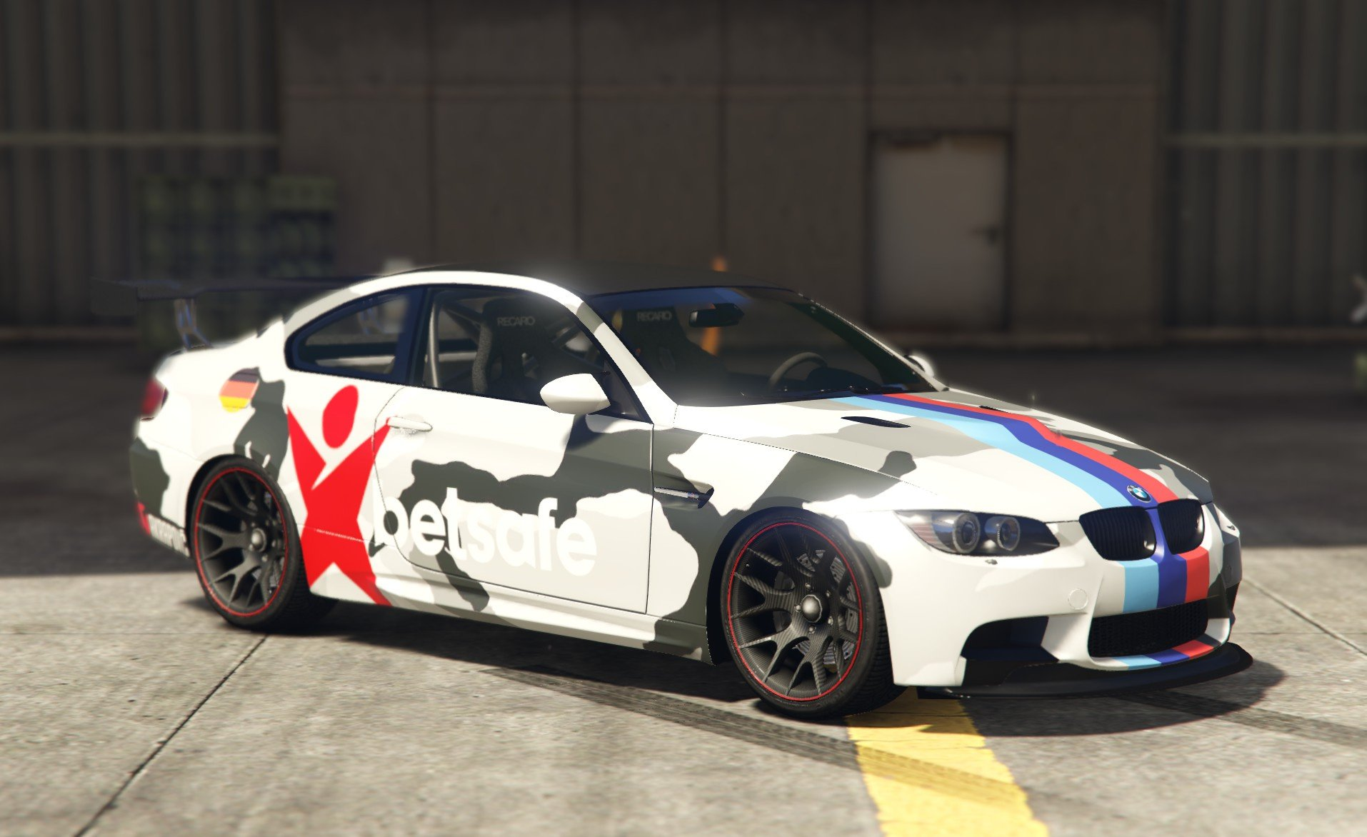 bmw e92 m3 gts camo livery inspired by jon olsson gta5. Black Bedroom Furniture Sets. Home Design Ideas