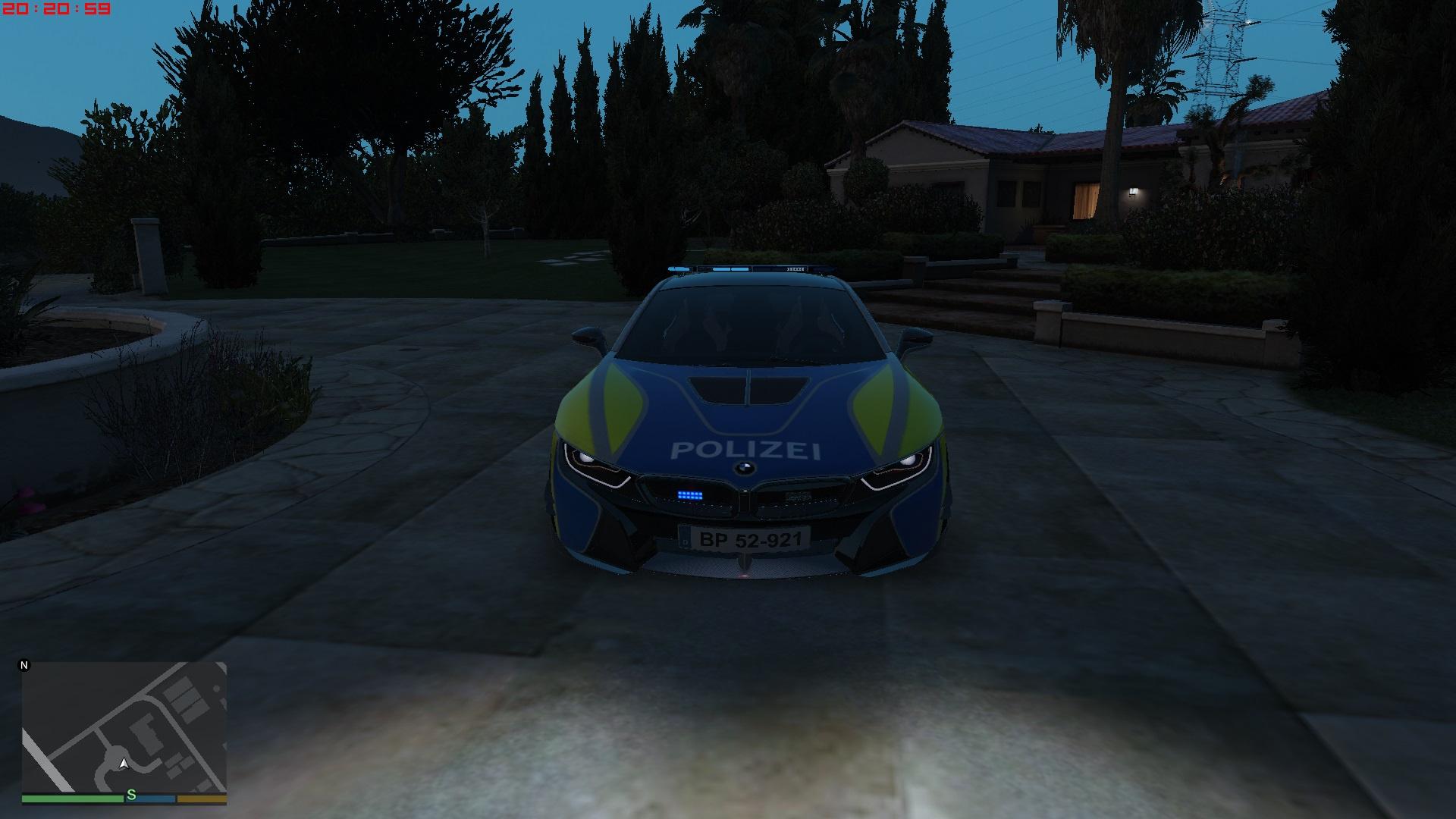 Bmw I8 Ac Schnitzer German Police Noels Els Gta5 Mods Com