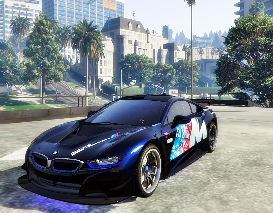 Bmw I8 Led Gta5 Mods Com