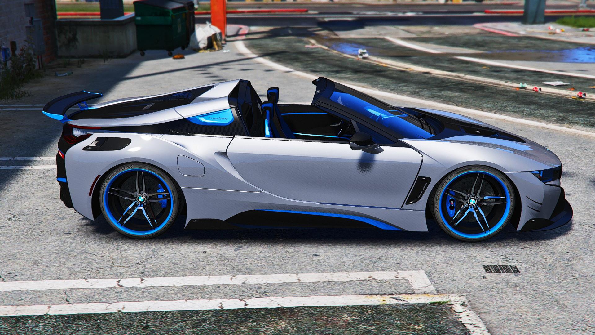 BMW I8 Custom >> Bmw I8 Roadster Ac Schnitzer Add On Oiv Gta5 Mods Com