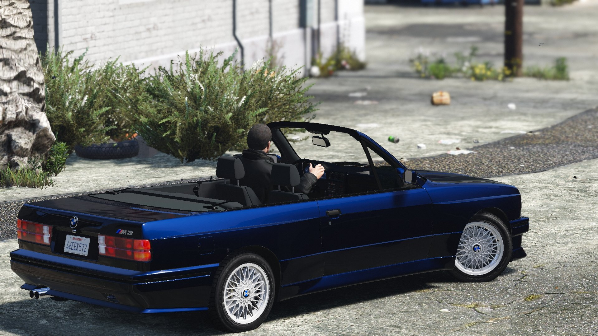 bmw m3 e30 1991 add on tuning convertible gta5. Black Bedroom Furniture Sets. Home Design Ideas