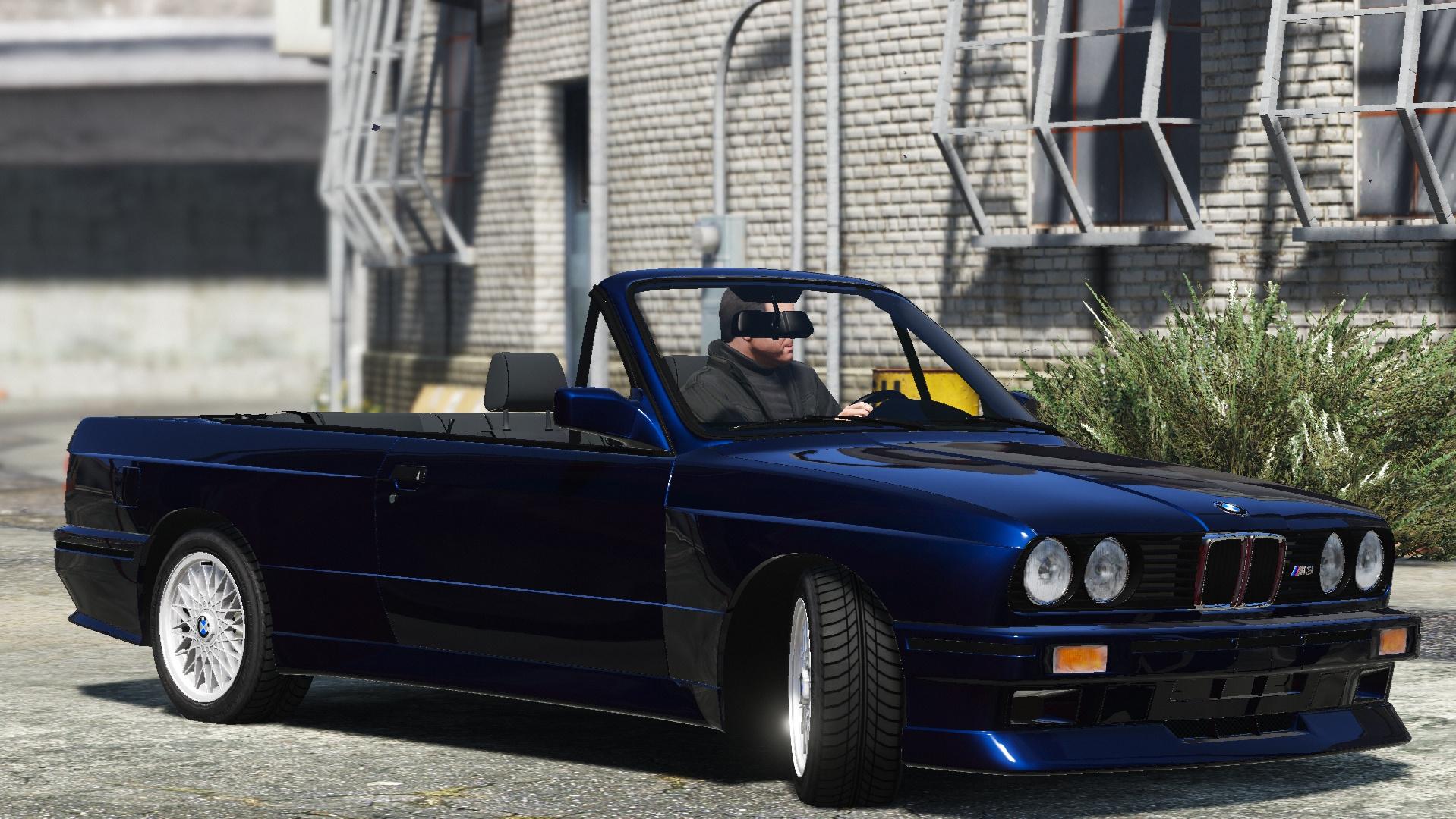 Bmw M3 E30 1991 Add On Tuning Convertible Gta5 Mods Com