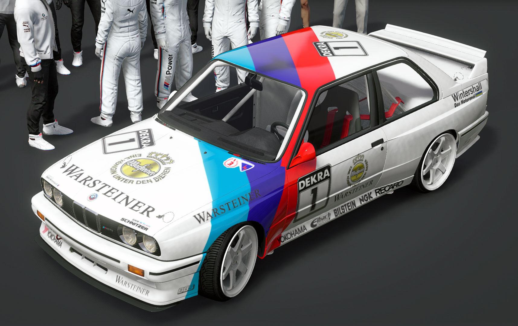 BMW M3 E30 DTM 1991 Real Textrue Livery Skin - GTA5-Mods.com
