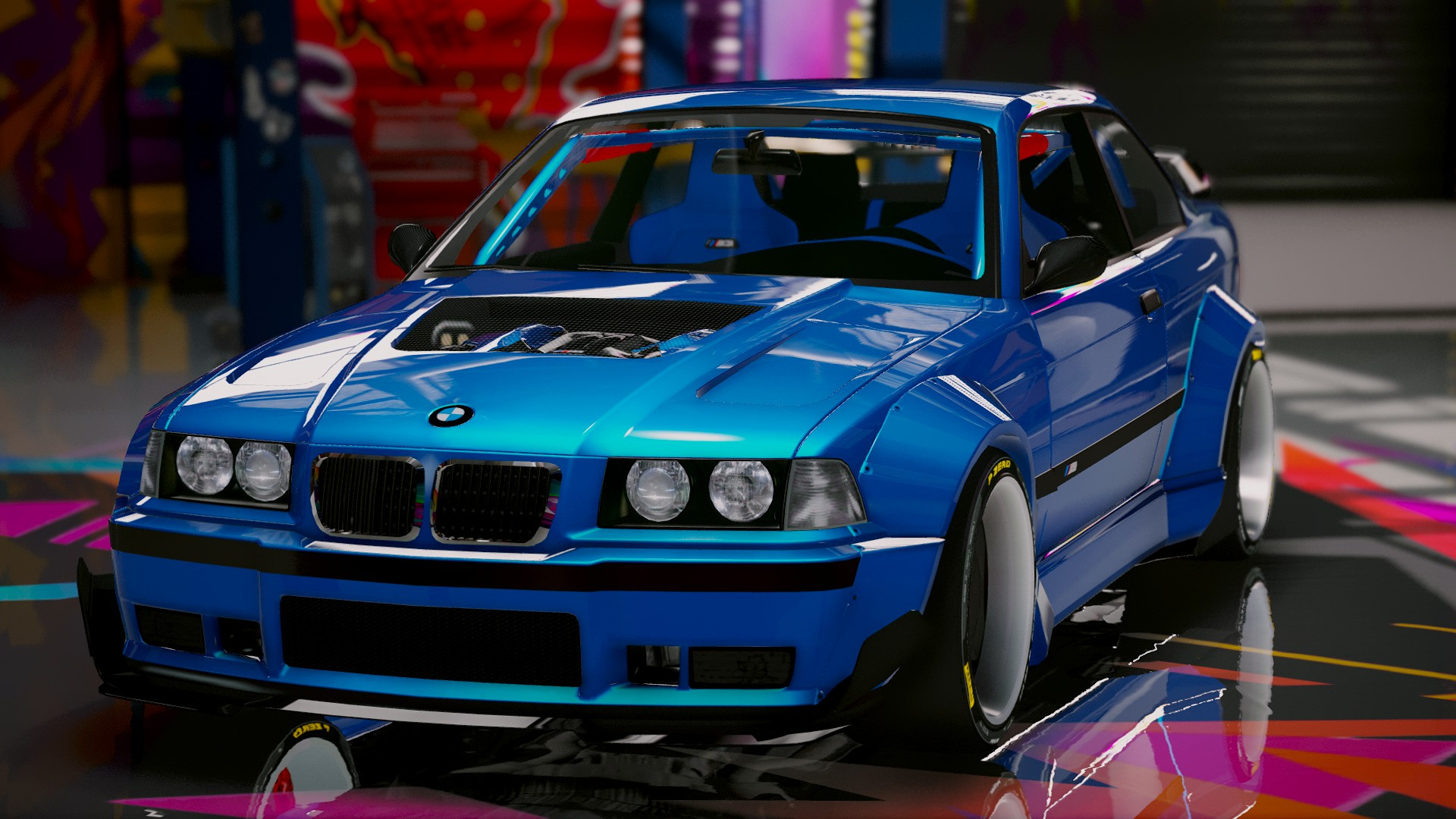 bmw m3 e36 rocket bunny add on tuning gta5. Black Bedroom Furniture Sets. Home Design Ideas