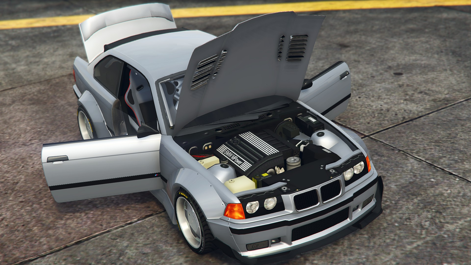 BMW M3 [E36] StreetCustom [Add-On | Tuning] - GTA5-Mods.com