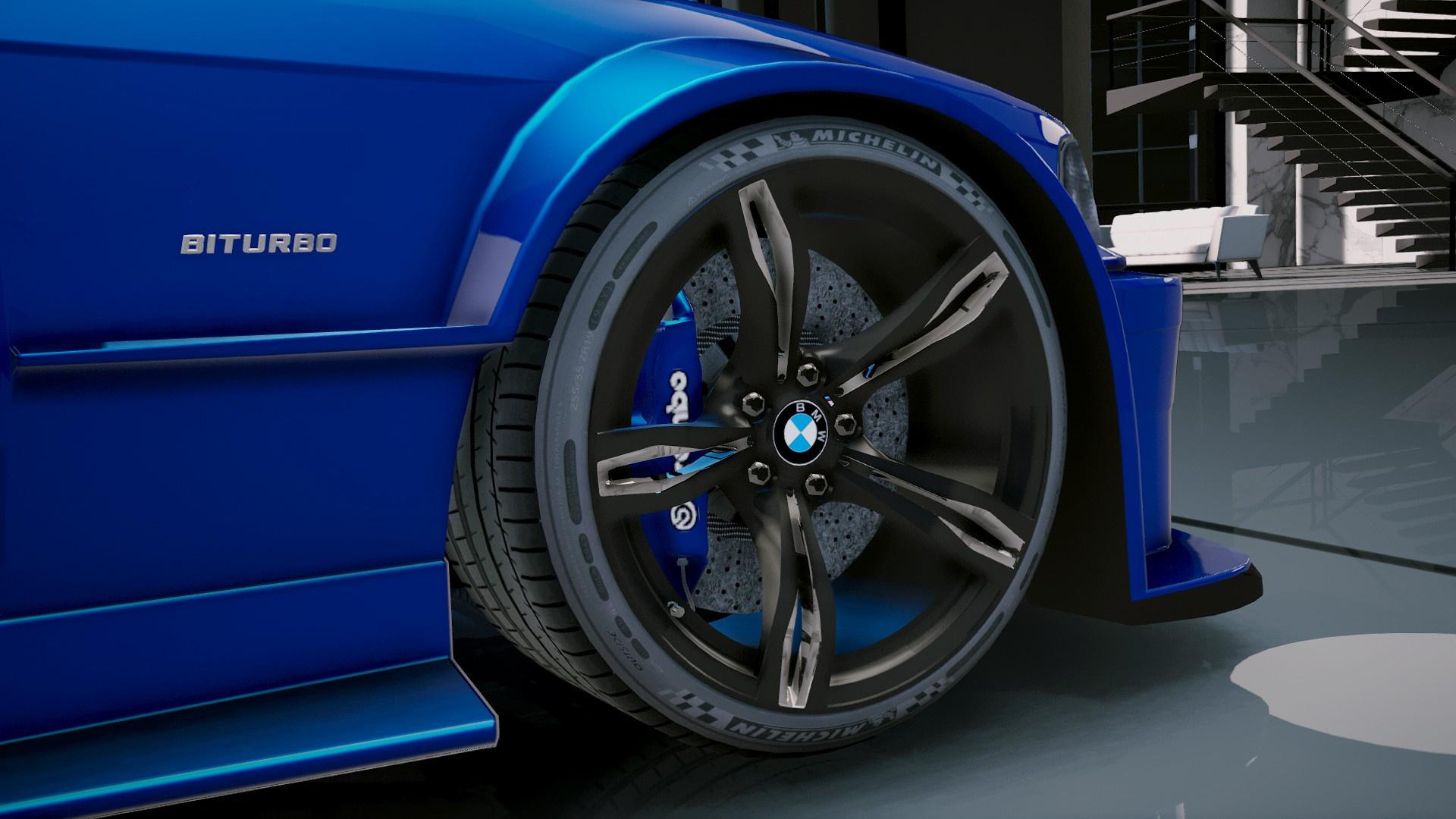 Bmw M3 E36 V8 Biturbo Add On Tuning Gta5 Mods Com