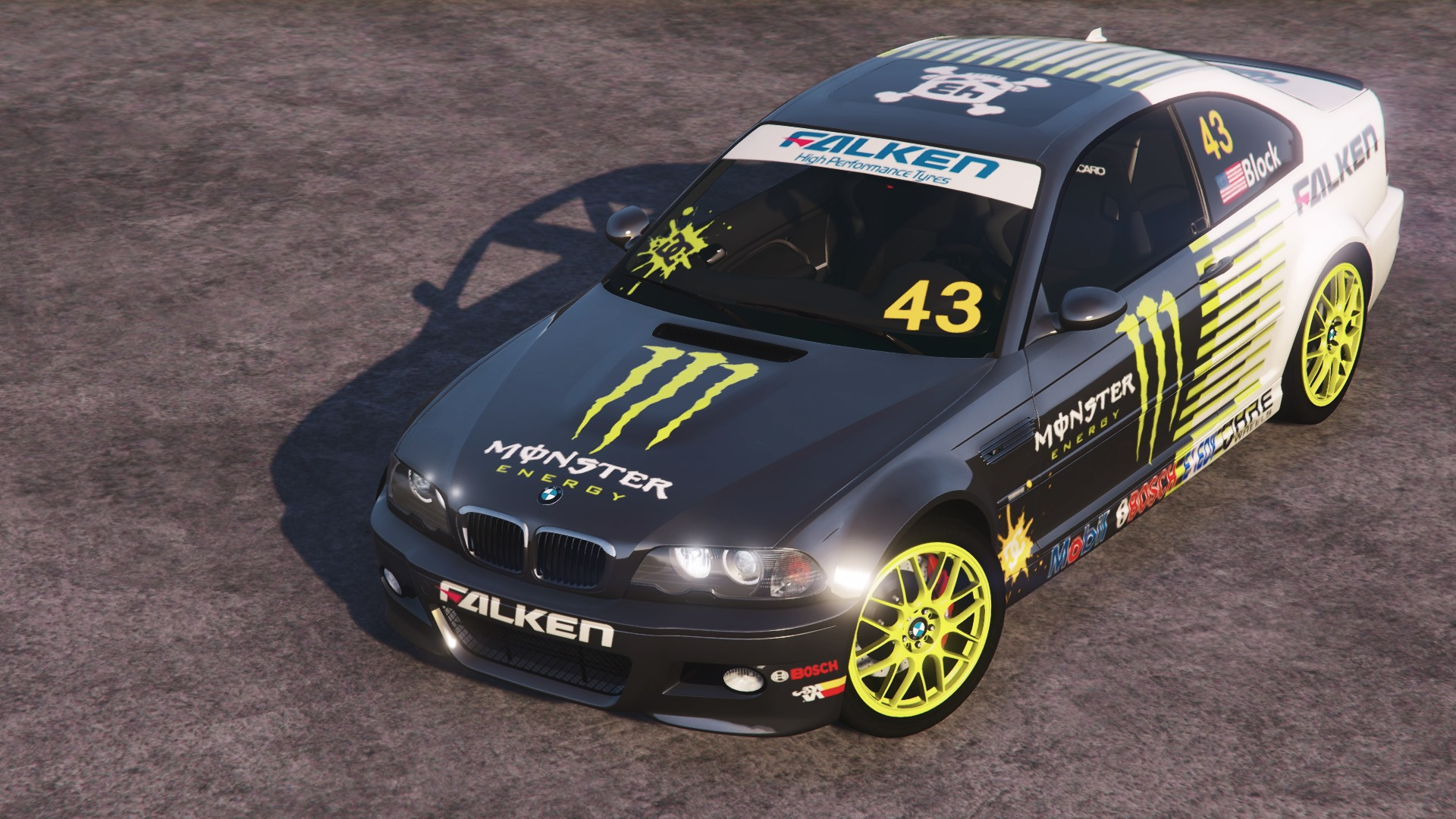 Bmw M3 E46 2005 Monster Livery Gta5 Mods Com