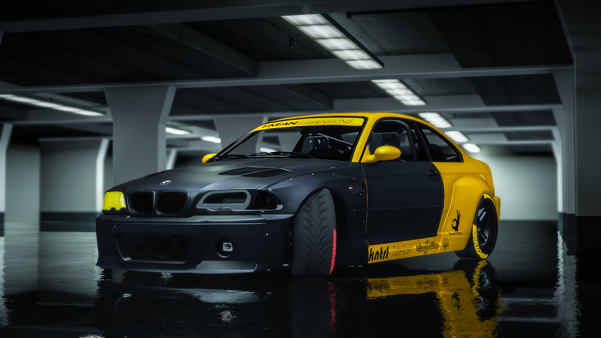 bmw m3 e46 csl 2005 rocket bunny add on replace gta5. Black Bedroom Furniture Sets. Home Design Ideas