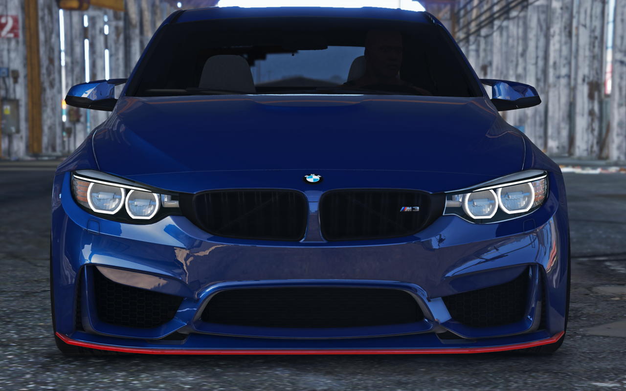 Bmw M3 F80 2015 Add On Replace Gta5 Mods Com