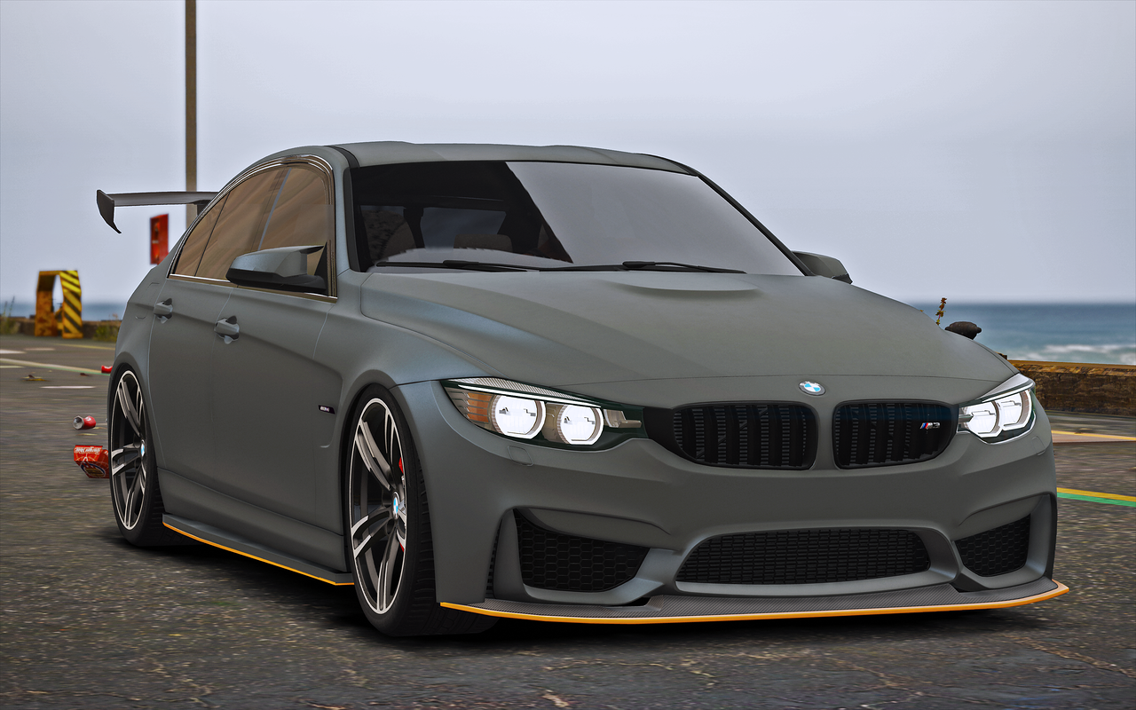 bmw m3 f80 2015 add on replace gta5. Black Bedroom Furniture Sets. Home Design Ideas