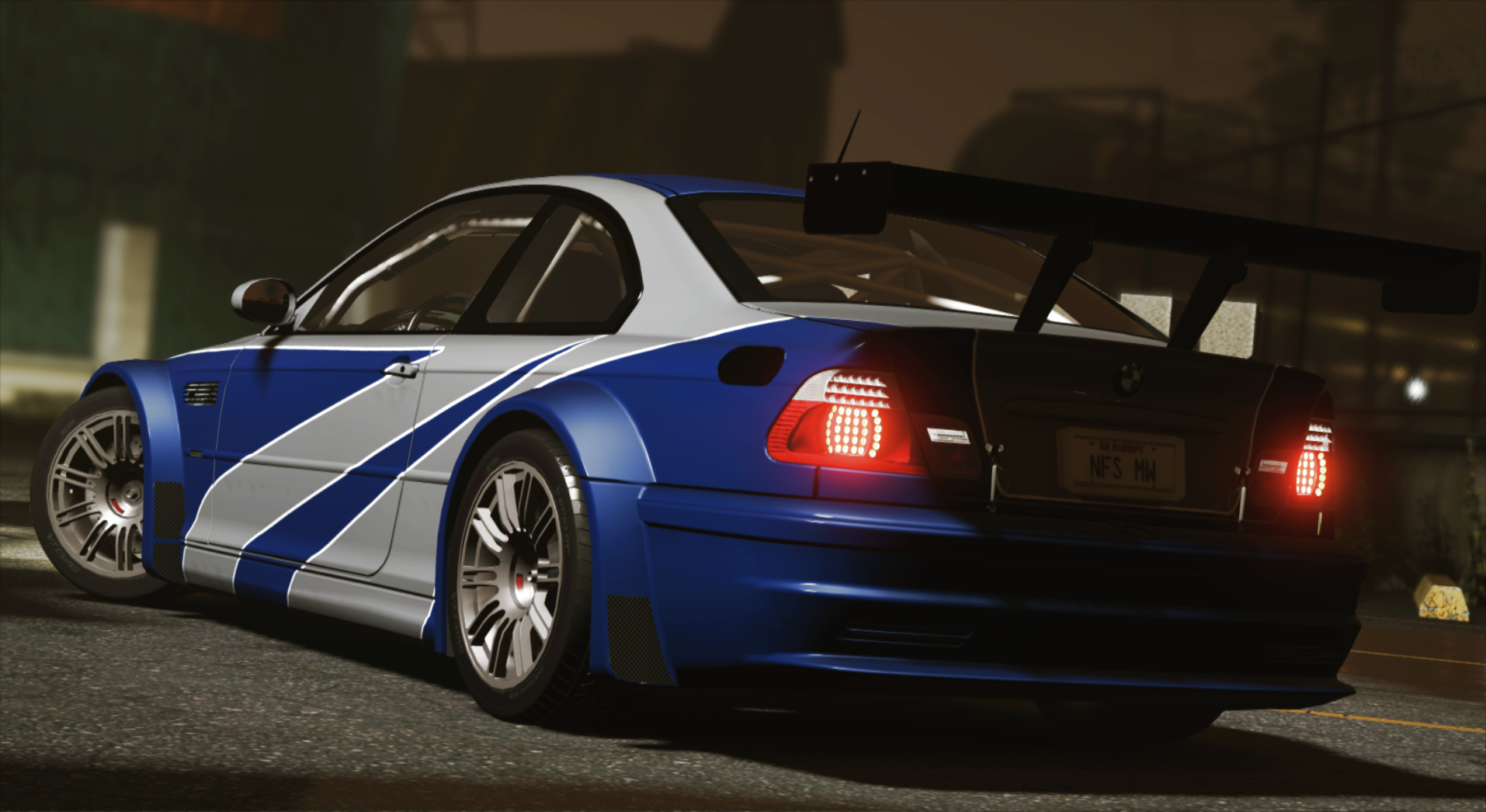 Bmw M3 Gtr E46 Nfs Mw 4k Livery Add On Gta5 Mods Com