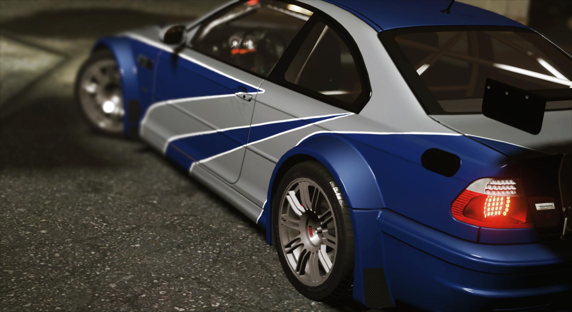 BMW M3 GTR E46 NFS MW [4k livery] [Add-On] - GTA5-Mods com