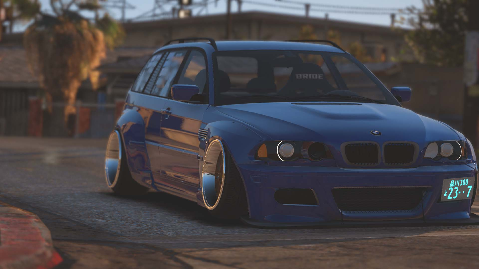 bmw m3 touring rocketbunny pandem add on replace gta5. Black Bedroom Furniture Sets. Home Design Ideas