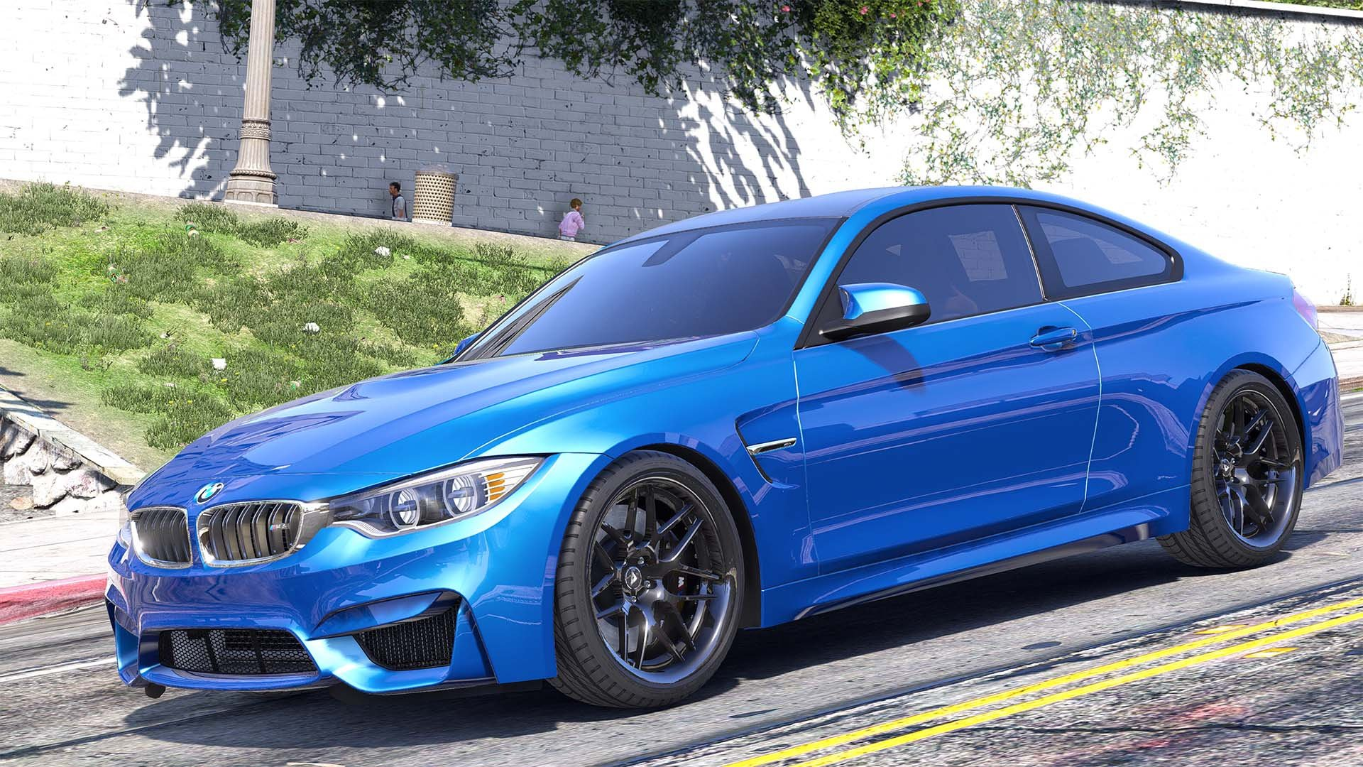 bmw m4 f82 2015 add on replace animated gta5. Black Bedroom Furniture Sets. Home Design Ideas