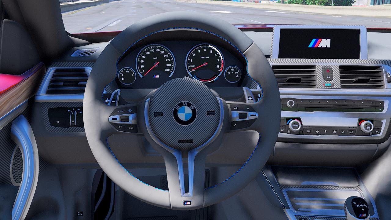 BMW M4 F82 [LibertyWalk   Animated Engine   Template ...