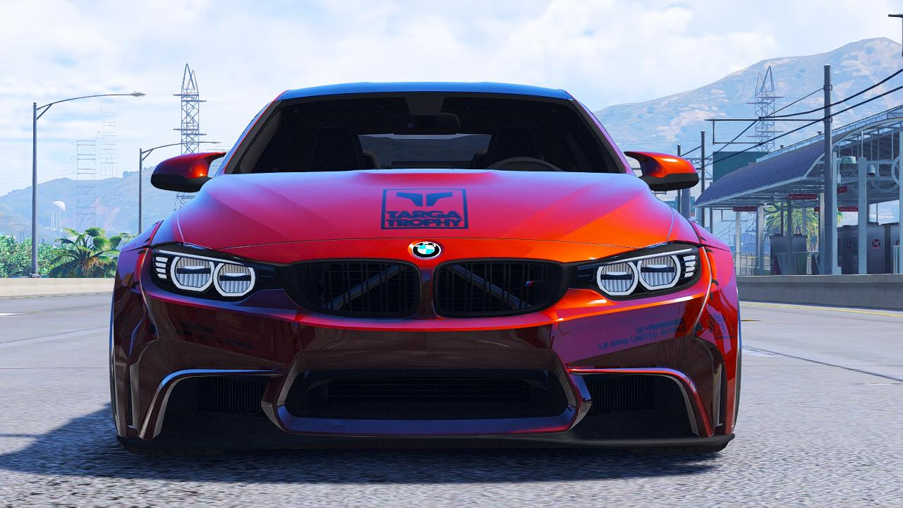 Bmw M4 F82 Hq Libertywalk Animated Engine Skinable