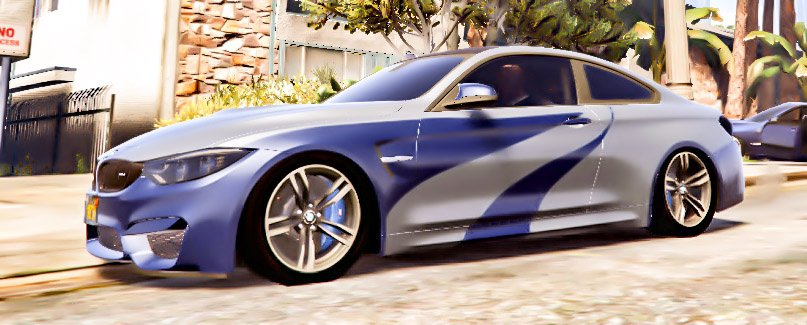 bmw m4 nfs most wanted vinyl gta5 mods com