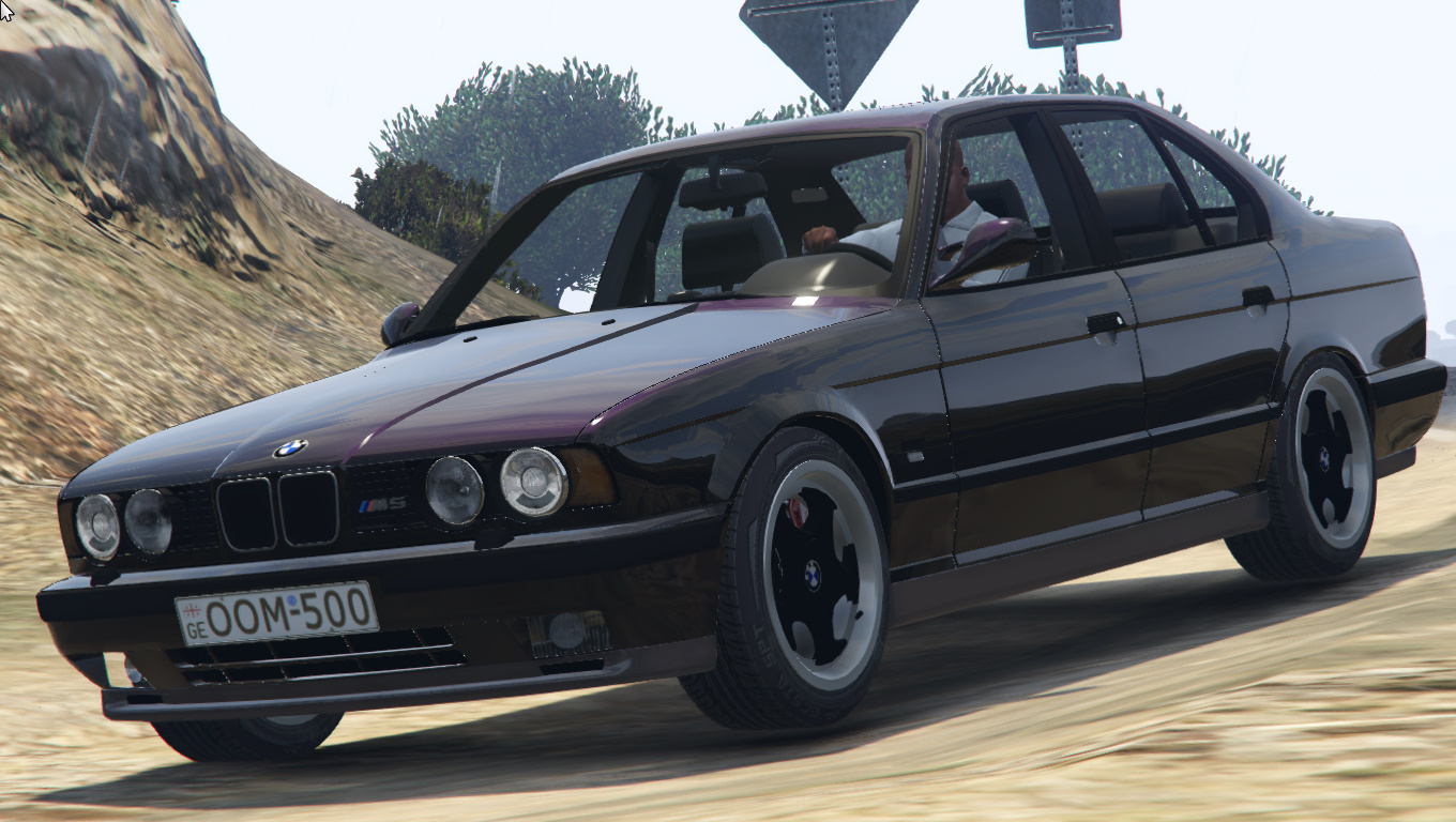 bmw m5 e34 oom 500 gta5. Black Bedroom Furniture Sets. Home Design Ideas