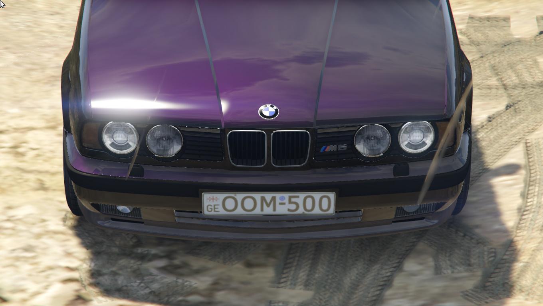 Bmw M5 E34 Oom 500 Gta5 Mods Com