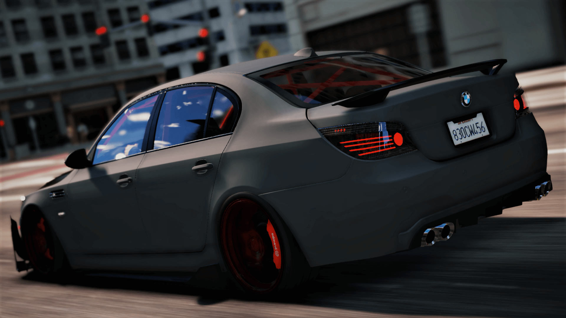 bmw m5 e60 crazy exterior add on tuning gta5. Black Bedroom Furniture Sets. Home Design Ideas